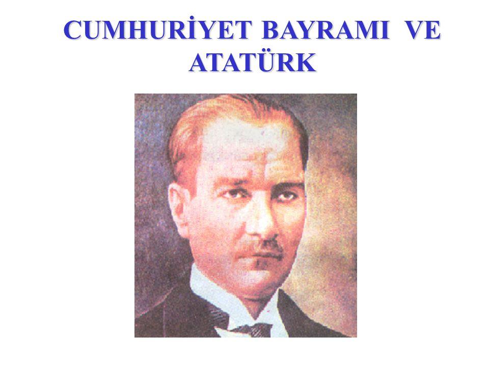 Atatürk Türk Milleti ile birlikte Kurtuluş Savaşını yaptı.