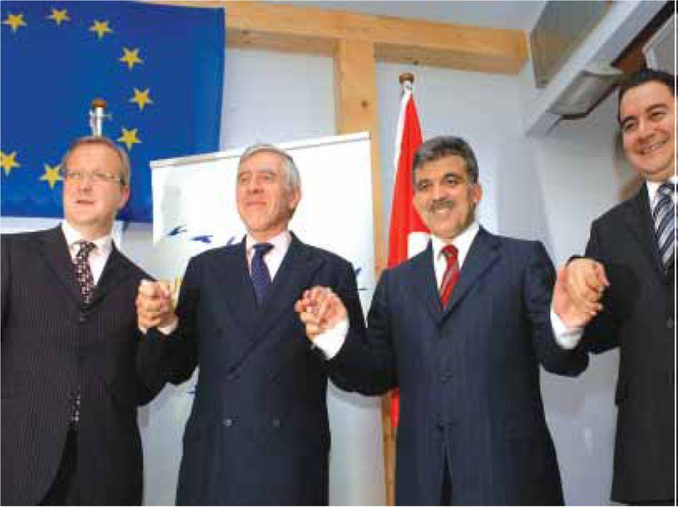 Katılım Müzakereleri 3 Ekim 2005 tarihinde başlayan AB ile Türkiye arasındaki katılım müzakereleri uzun bir sürecin başlangıcıdır.