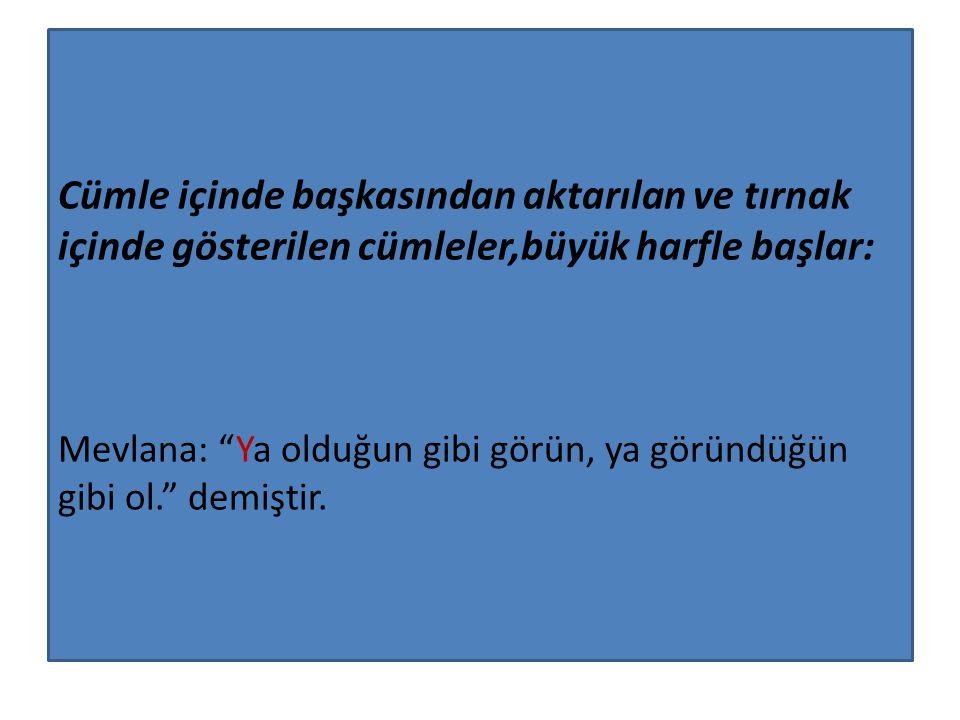 Gelenekleşmiş olan T.C.(Türkiye Cumhuriyeti) T.