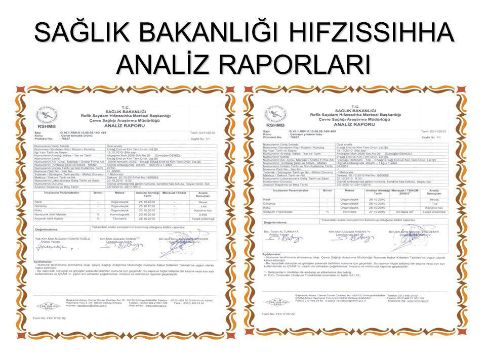 "PAMUKKALE ÜNİVERSİTESİ ""FOSFAT YOKTUR ""RAPORU"