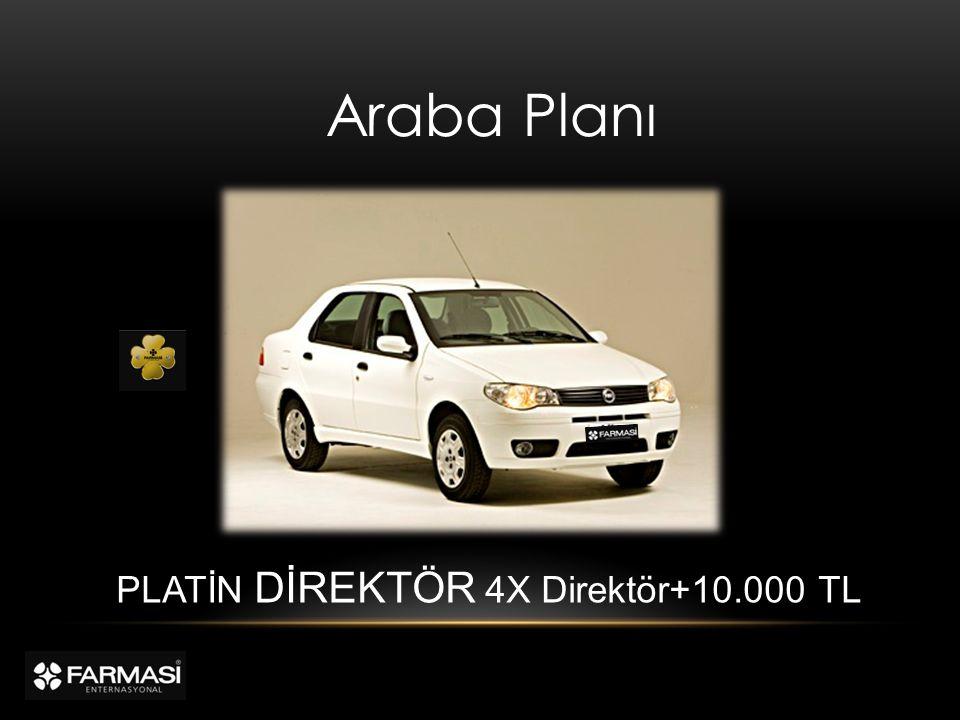 Araba Planı PLATİN DİREKTÖR 4X Direktör+10.000 TL