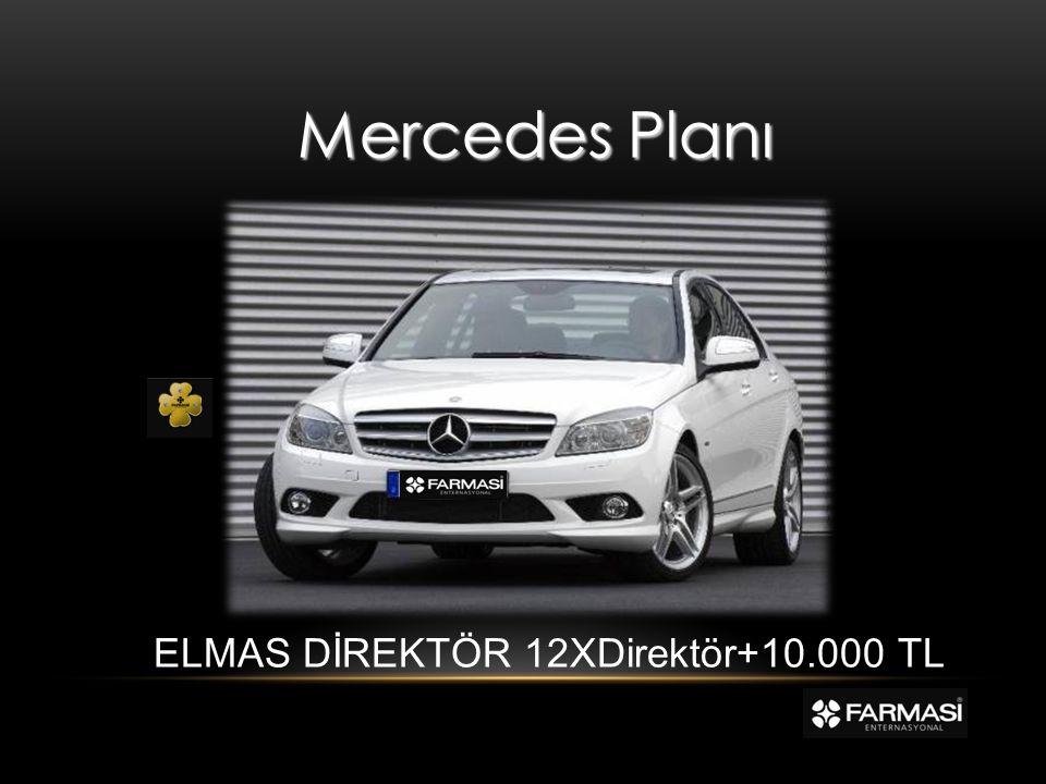 Mercedes Planı ELMAS DİREKTÖR 12XDirektör+10.000 TL