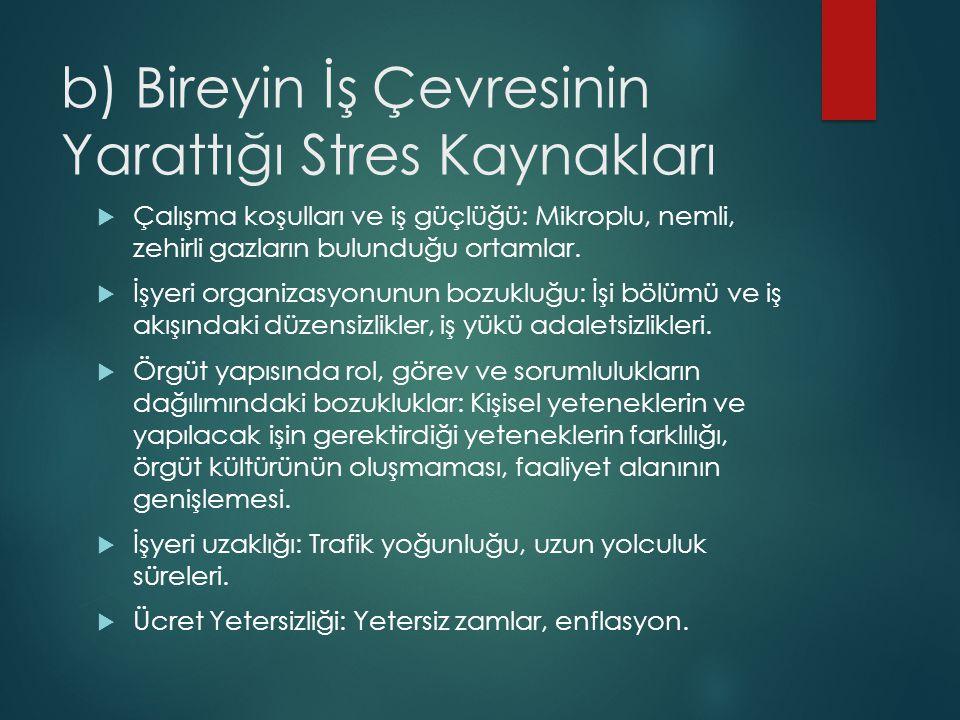 Stresin Yol Açtığı Başlıca Rahatsızlıklar  Kalp ve damar hastalıkları, dolaşım bozuklukları, yüksek tansiyon.