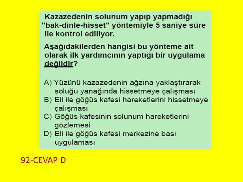 92-CEVAP D Soru 3..