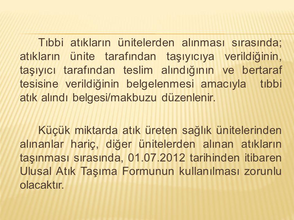 Atıklarını toplayan araç Sincan Çadırtepe Katı Atık Düzenli Depolama Sahası'na gelir, saha içerisinde sınırlandırılmış ve Ankara Büyükşehir Belediyesi tarafından özel olarak hazırlanmış havuzlara (lagün) atığını boşaltır.