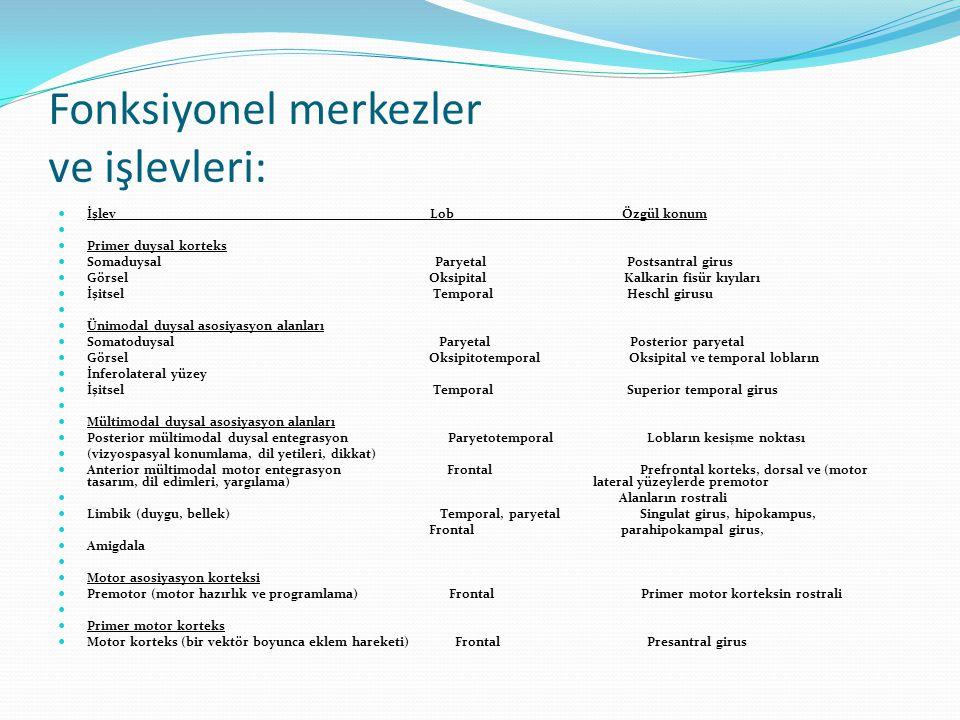 fMR protokolleri İntracranial,intraaxial ve extraaxial yerlerşimli tümör rezeksiyonu öncesi pre-op tümör yerleşkesi ile duyusal ve motor fonksiyon lokalizasyonu ilişkisi belirlenir.