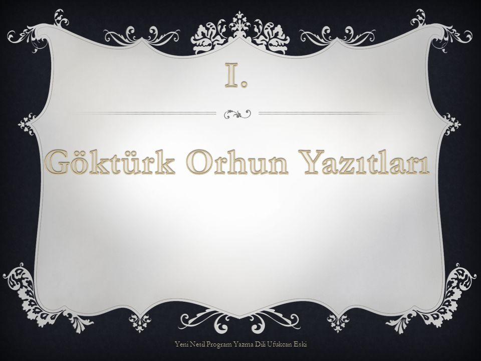  734 yılında ölen Bilge Ka ğ an adına o ğ lu Tenri Ka ğ an tarafından yaptırılan bu anıt 735 yılında dikilmi ş tir.