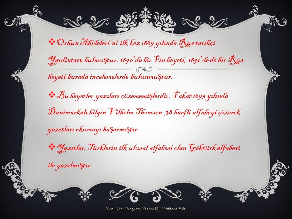 AAlfabenin dördü ünlü, otuz dördü ünsüz harflerden olu ş ur.