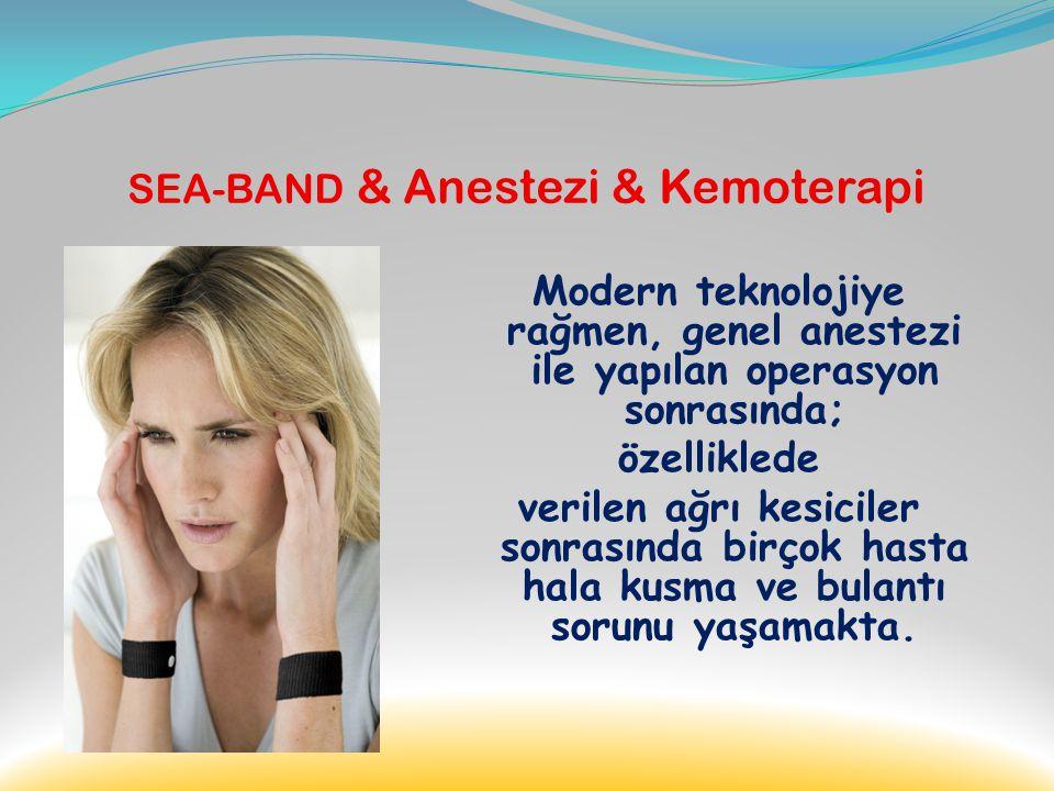 … SEA-BAND & Yol Tutması … Sea-Band seyahatin başlangıcında ya da bulantı hissedildiği anda uygulanabilir.. Bu sayede seyahatin daha rahat geçirilmesi
