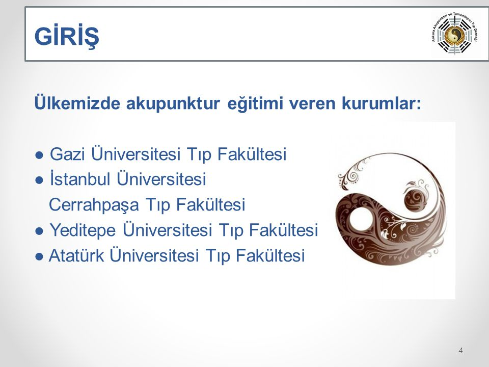 Bu çalışmada, 24 Ocak-19 Nisan 2012 tarihleri arasında Gazi Üniversitesi Tıp Fakültesi bünyesinde düzenlenen, 17.