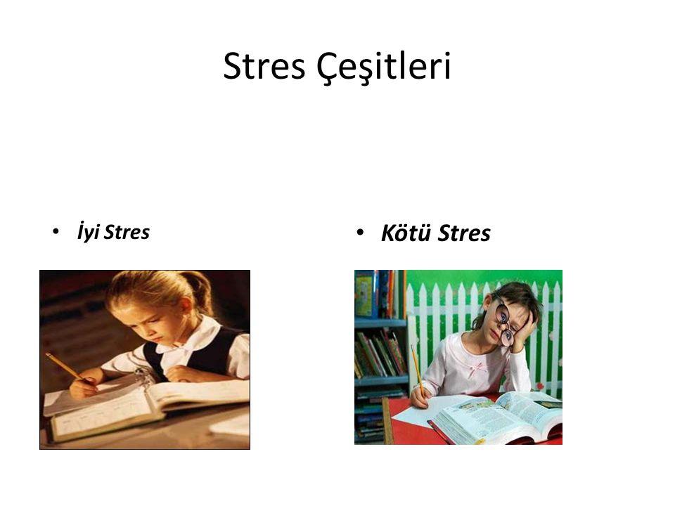 Stres Çeşitleri İyi Stres Kötü Stres