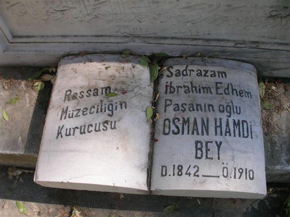 O lahidin içine beni de koyun, ondan sonra gönderin Padişahım Bu sözler, aynı zamanda iyi bir arkeolog olan Osman Hamdi Bey tarafından, Sayda (Sion) k