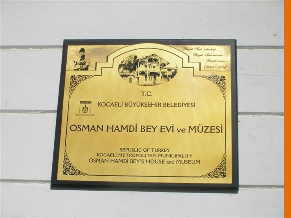 Osman Hamdi Bey 1842-1910 Osmanlı İmparatorluğu'nun son dönemlerinde Gebze ve cıvar köyleri İmparatorluğun üst düzeyi için sayfiye yerleri idi. Osman