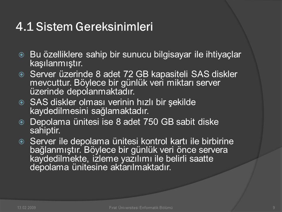 5.SONUÇLAR  Sonuç olarak günümüzde hızla yaygınlaşan IP tabanlı kamera sistemleri ile kampüs içerisinde istenen noktalar kontrol altına alınmıştır.
