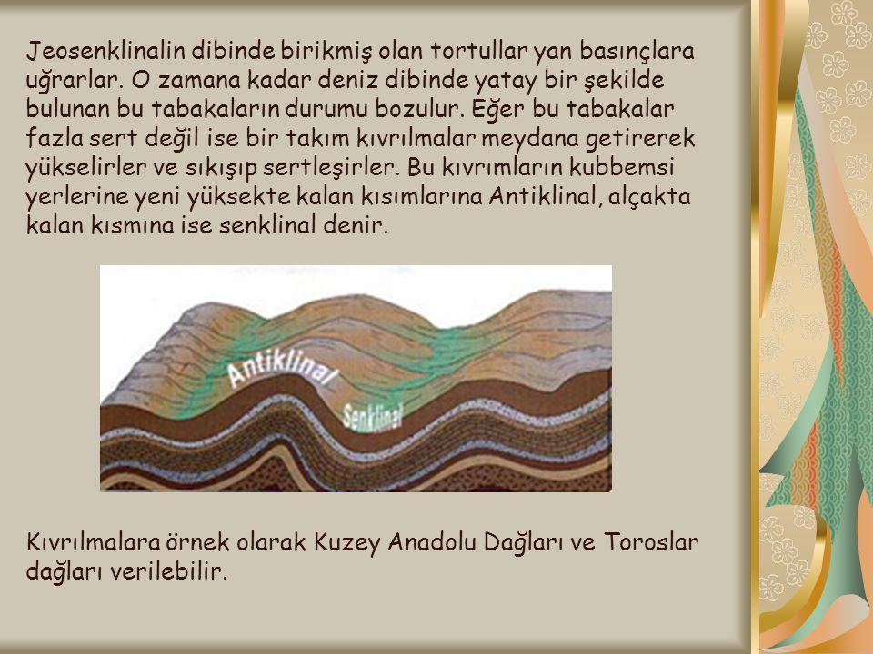 Volkan Tüflerinde Peribacaları VOLKAN TÜFÜ: Volkanizma sonucu kül ve tüflerin yanardağ çevresinde birikmesiyle oluşan tabakaya denir.