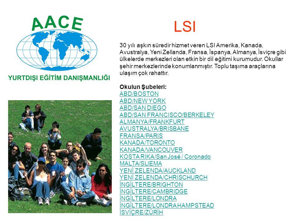 30 yılı aşkın süredir hizmet veren LSI Amerika, Kanada, Avustralya, Yeni Zellanda, Fransa, İspanya, Almanya, İsviçre gibi ülkelerde merkezleri olan et