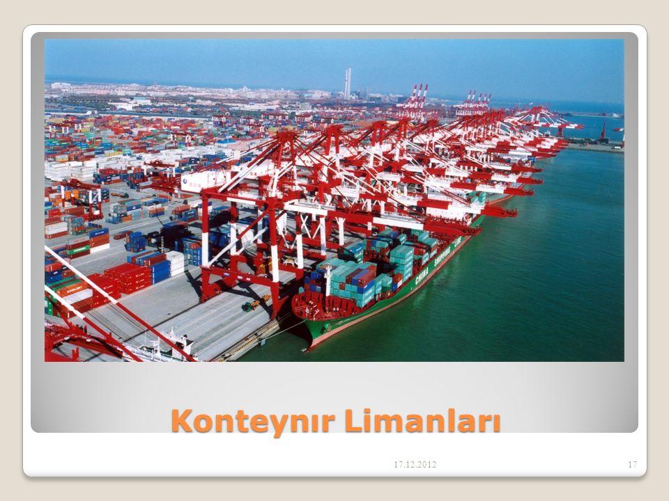 Konteynır Limanları 17.12.201217