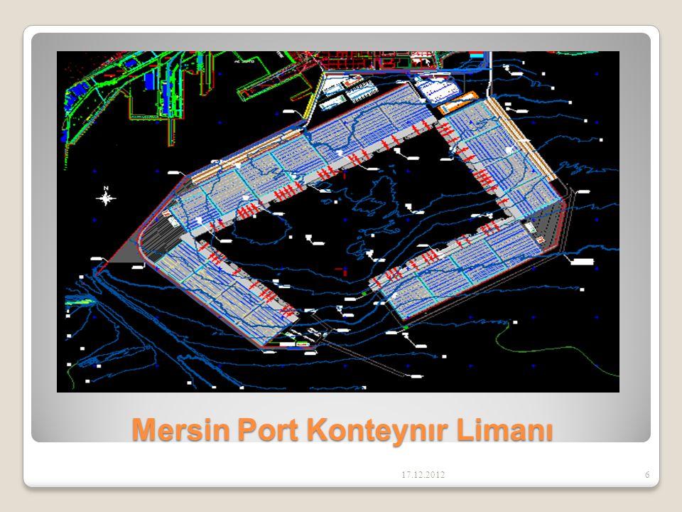 Mersin Port Konteynır Limanı 17.12.20126