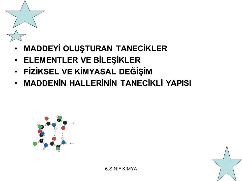 KARIŞIM ile BİLEŞİK ARASINDAKİ FARKLAR 1.