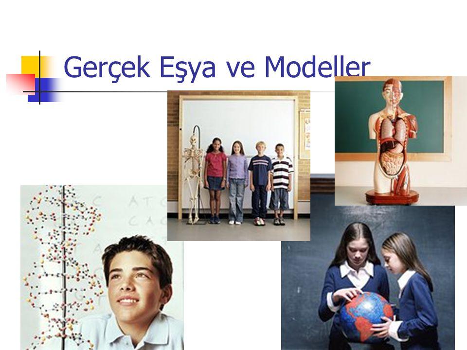 Dr. Serçin KARATAŞ Gerçek Eşya ve Modeller
