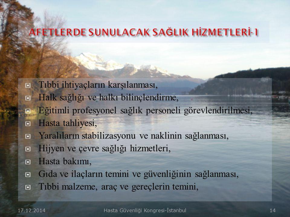 17.12.2014Hasta Güvenliği Kongresi-İstanbul 13  Örgütlenme ve hareket kalıpları önceden planlanıp çalışılmış, masa başı simülasyonların ötesinde muht