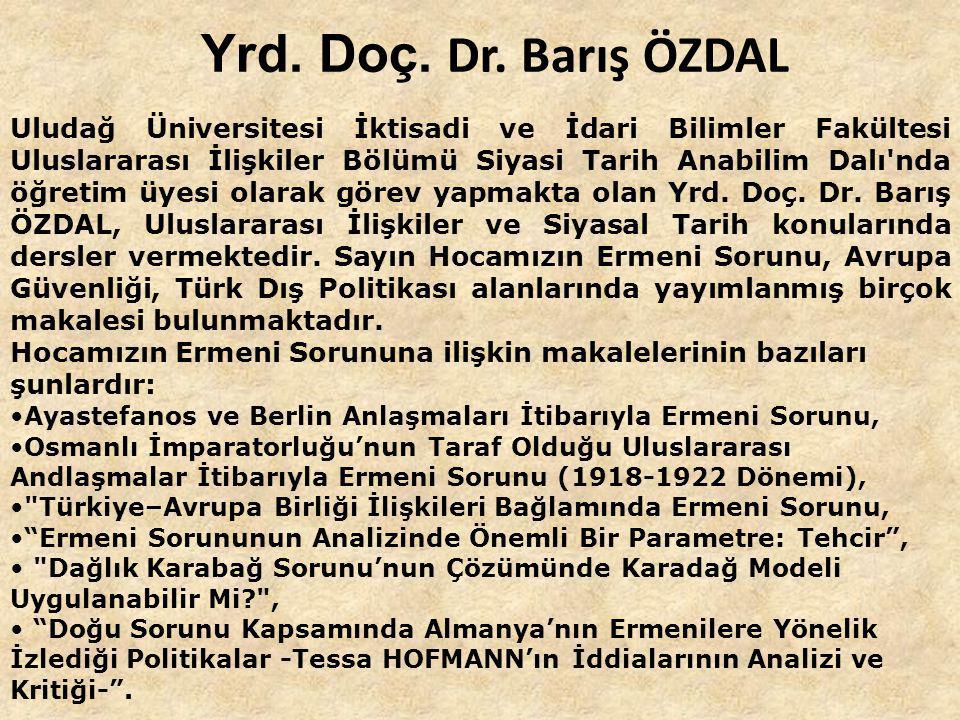 Prof. Dr. Mahir AYDIN 1895'e kadar ERMENİ SORUNUNUN GELİŞİMİ