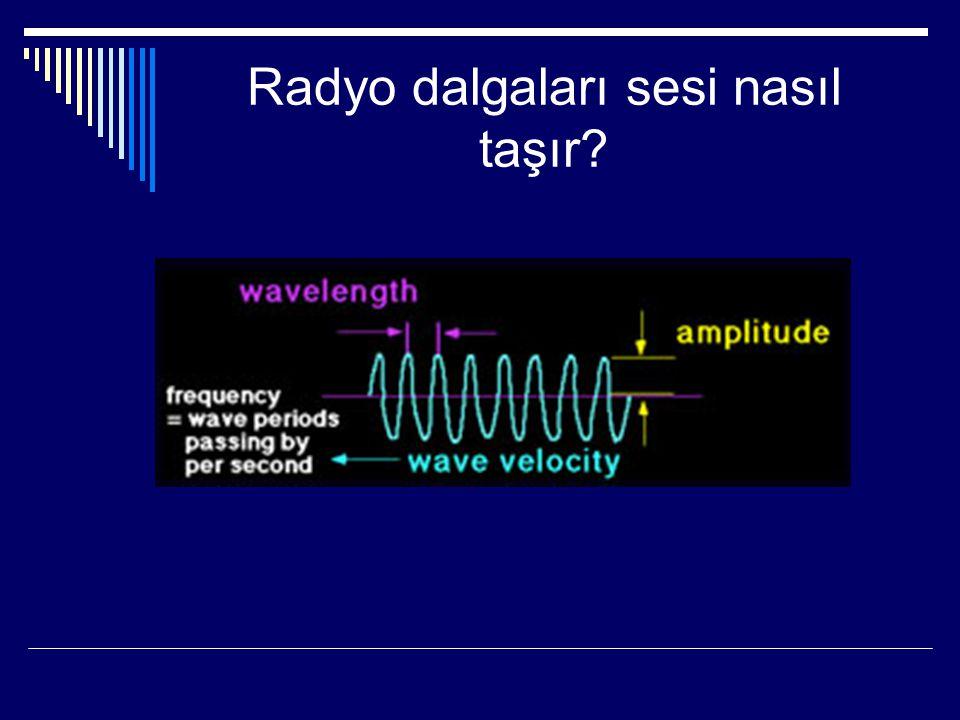 Radyo dalgaları sesi nasıl taşır