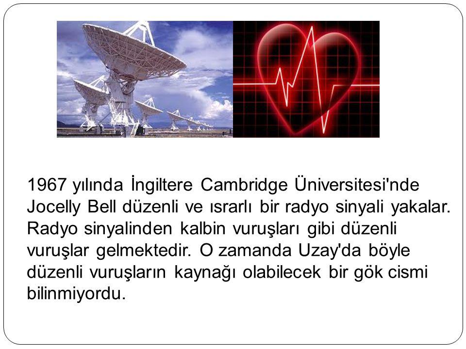 Bu sinyallerin, başka gezegenlerdeki akıllı yaratıklar tarafından gönderildiğine kanaat getirilir.