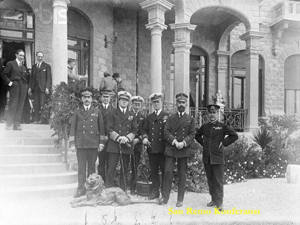 Sevr Antlaşması (10 Ağustos 1920) Sevr Antlaşması (10 Ağustos 1920) İtilaf Devletleri 24 Nisan 1920'de San Remo şehrinde yaptıkları toplantıda Sevr Antlaşması'nın taslağını hazırlamışlardı.
