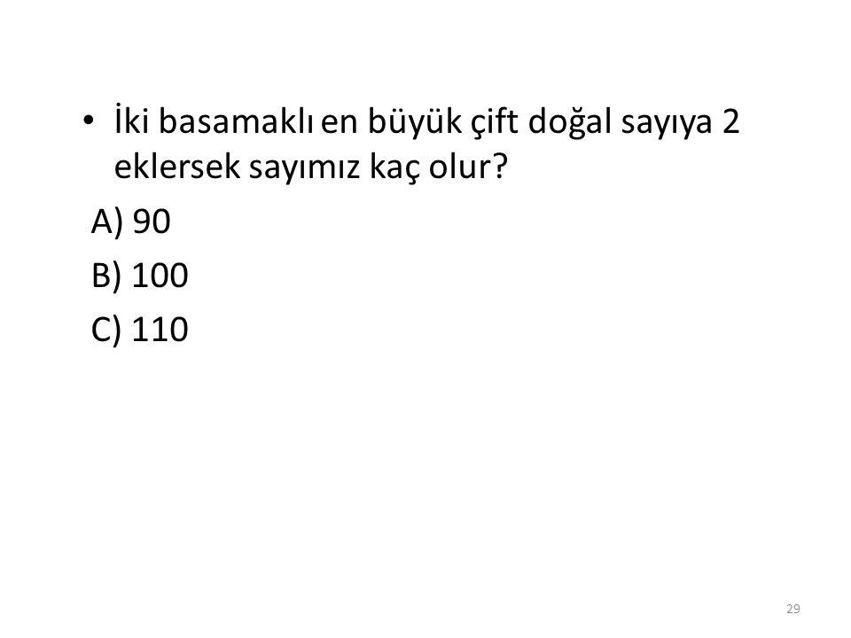 Aşağıdaki seçeneklerden hangisinde verilen sayılar tek doğal sayıdır.