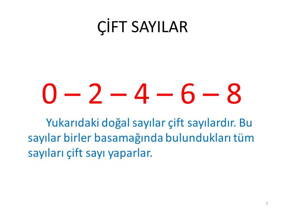 DOĞAL SAYILAR 0-1-2-3-4-5-6-7-8-9… 2