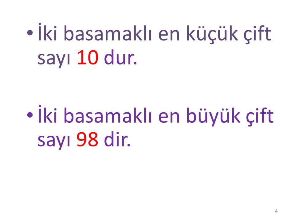 ÇİFT SAYILAR 0 – 2 – 4 – 6 – 8 Yukarıdaki doğal sayılar çift sayılardır.