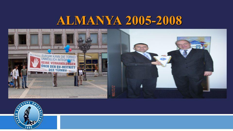 ALMANYA 2005-2008