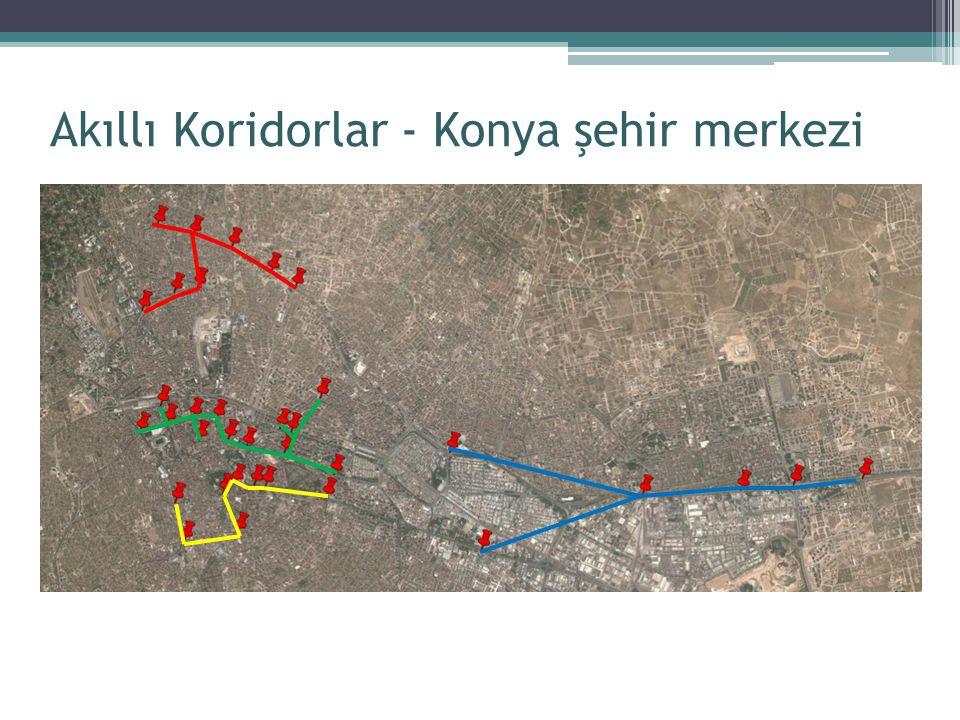 Akıllı Koridorlar - Konya şehir merkezi