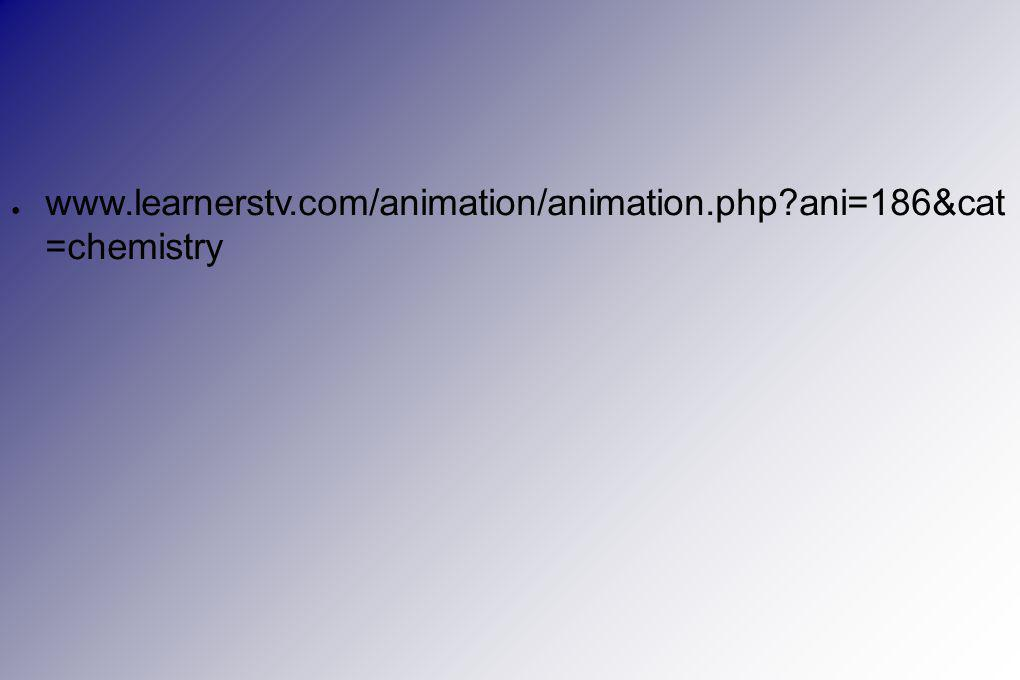 ● www.learnerstv.com/animation/animation.php?ani=186&cat =chemistry