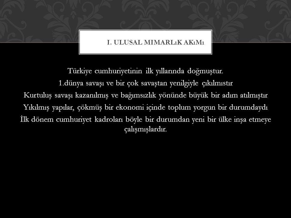 Türkiye cumhuriyetinin ilk yıllarında doğmuştur.