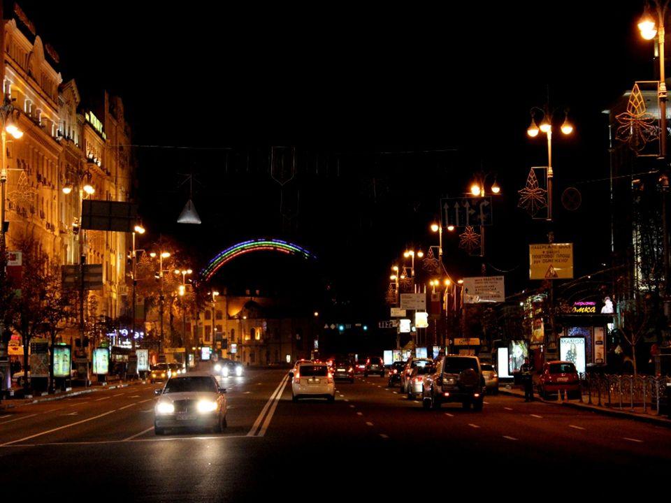 Burası, Kiev'in merkezi.Konserler, geçitler, festivallere ev sahipliği yapıyor.