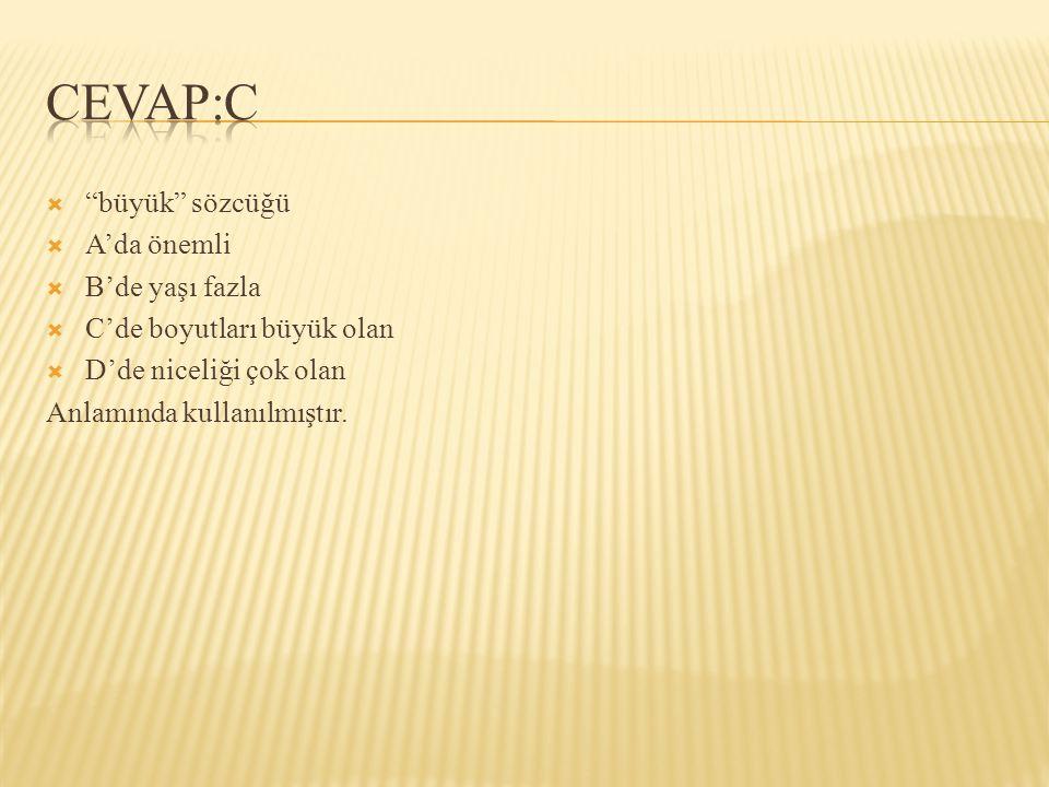  boğaz sözcüğü aşağıdaki cümlelerin hangisinde terim olarak kullanılmıştır.