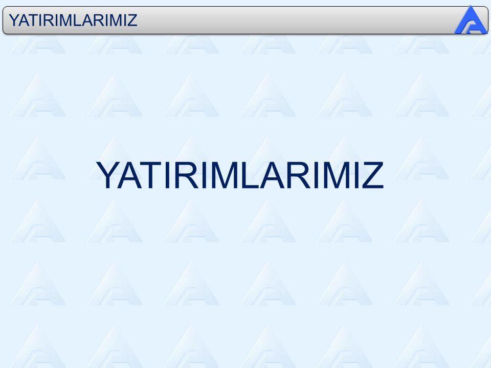 YATIRIMLARIMIZ