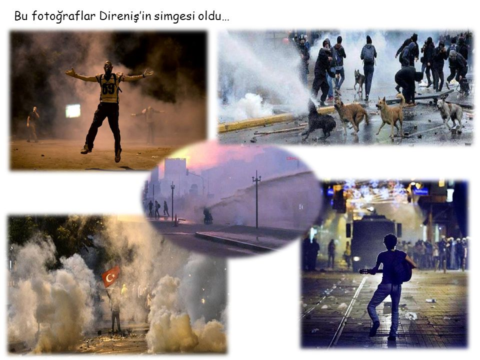 Bu fotoğraflar Direniş'in simgesi oldu…