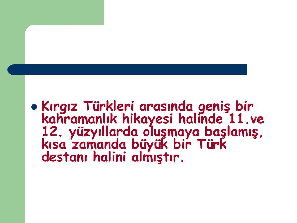 RÜYA MOTİFİ Rüya motifi Türk destanlarının ayrılmaz bir parçasıdır.