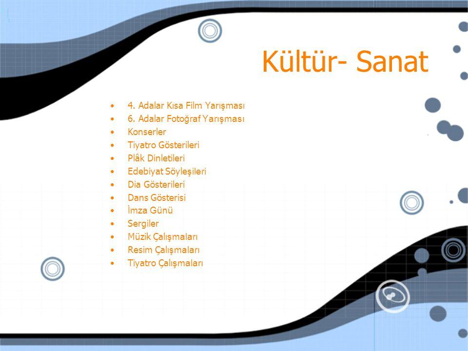 Geziler Adalar Kültür Derne ği 2007 yılında yedi adet gezi d ü zenledi.