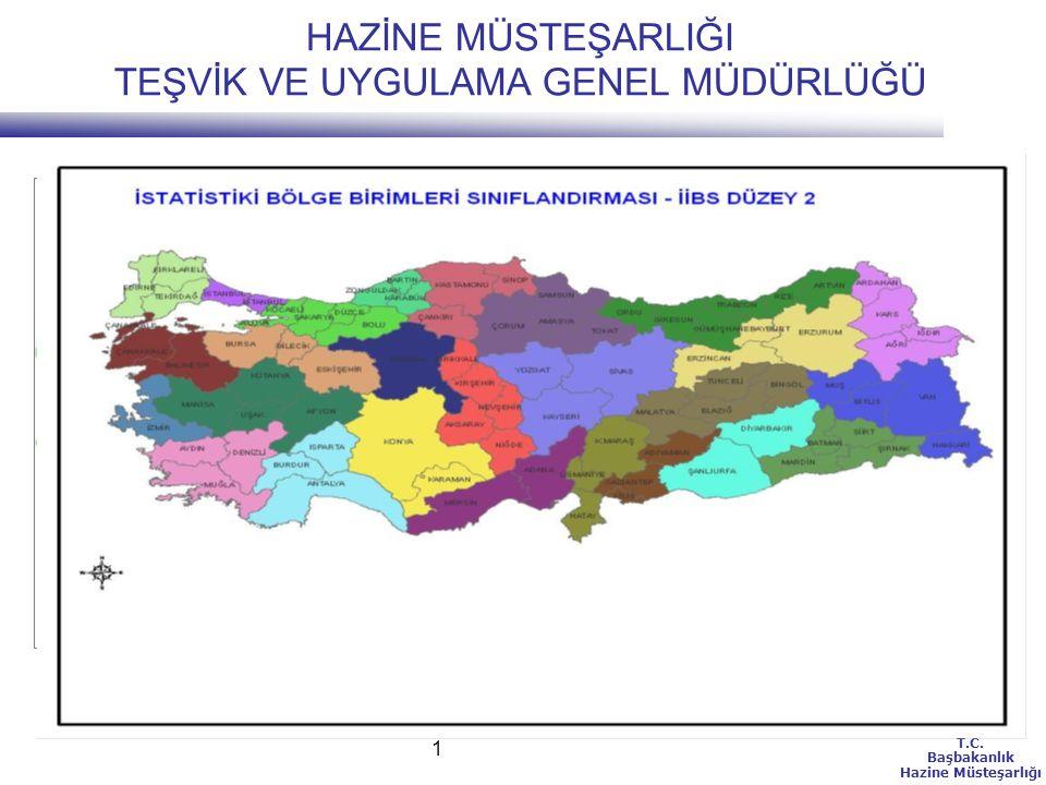T.C.Başbakanlık Hazine Müsteşarlığı 12 BÖLGESEL TEŞVİK SİSTEMİ İSTİSNALARI(4) 8.
