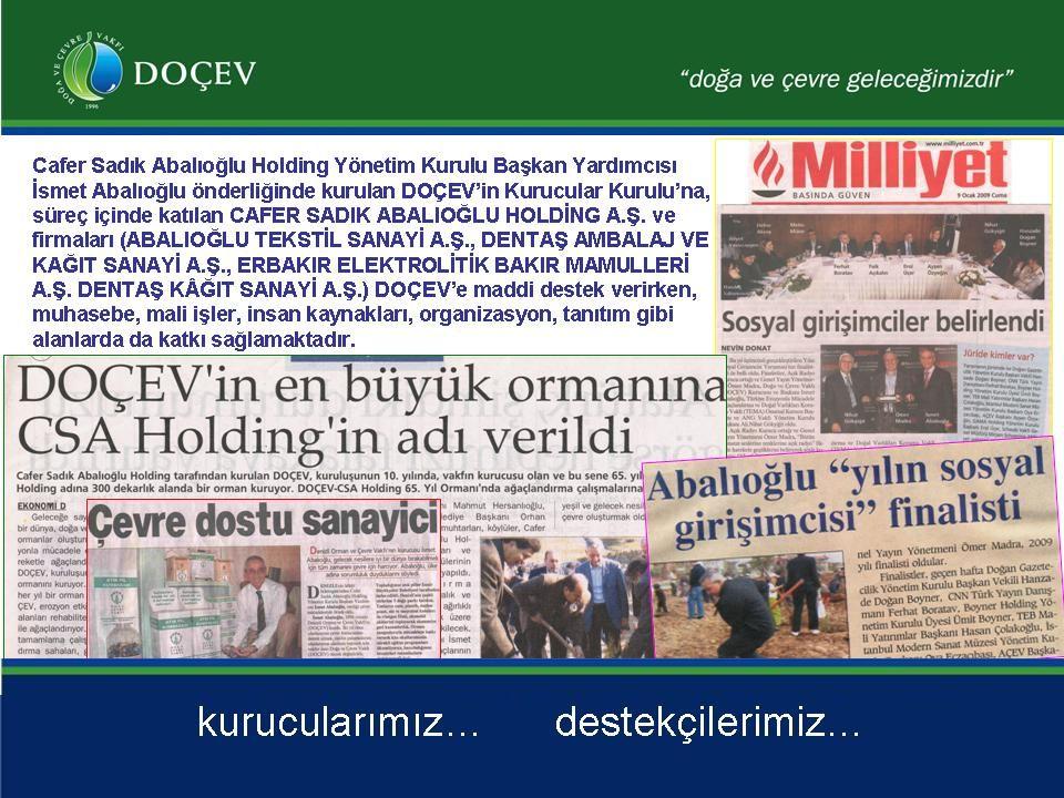 İsmet Abalıoğlu DOÇEV faaliyetleriyle Yılın Sosyal Girişimci finalisti…