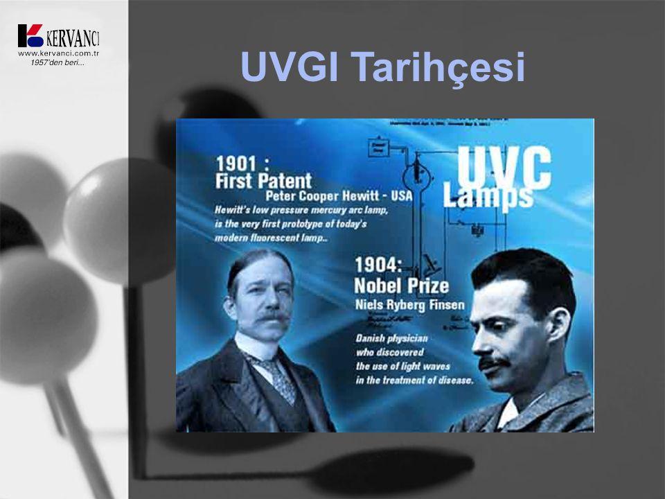 UVGI Tarihçesi
