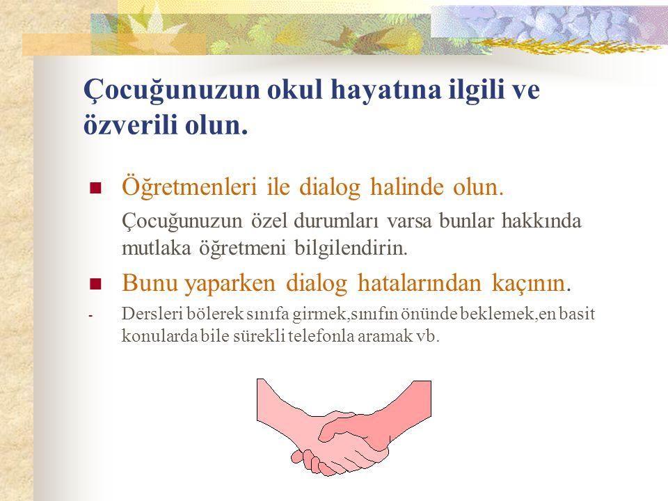Okul- Veli İşbirliği/Okulla İletişim