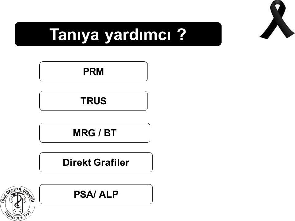 Tanıya yardımcı ? PRM TRUS MRG / BT Direkt Grafiler PSA/ ALP