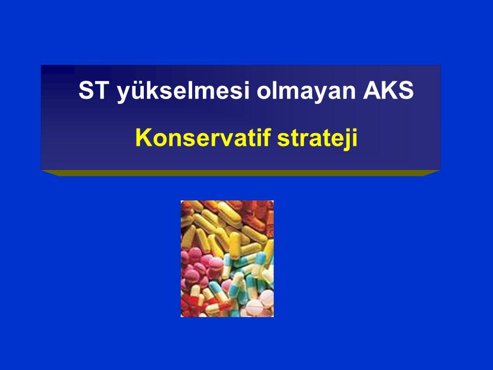 ST yükselmesi olmayan AKS Konservatif strateji