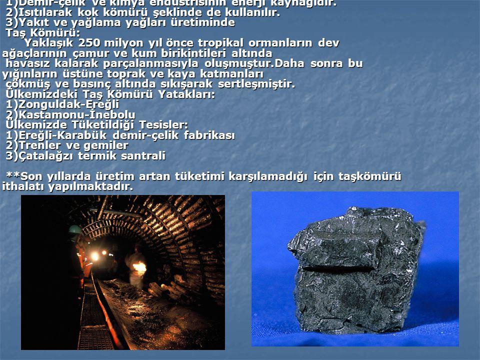 MANGANEZ: Demirle yakın benzerlik gösteren daha çok alaşım halinde kullanılan geçiş metalleri grubundan bir Metaldir. Kullanıldığı Yerler: 1)Alüminyum