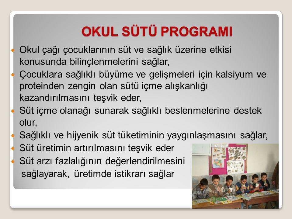 40 Dünya okul sütü programlarından örnekler....